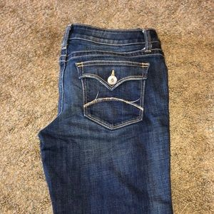 Boot cut jeans by a.n.a